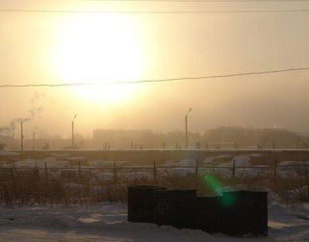В воздухе Красноярска в пять раз превышено содержание взвешенных частиц