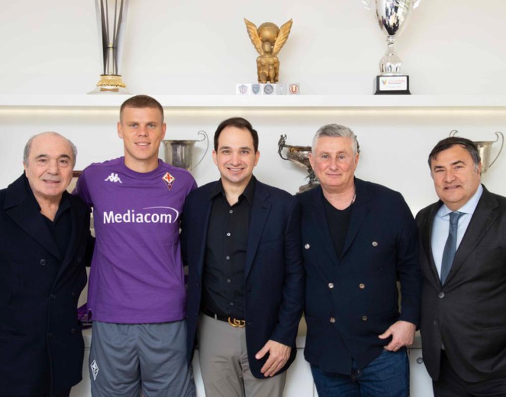 Проиграл в Красноярске – переехал во Флоренцию: Александр Кокорин официально стал игроком «Фиорентины»