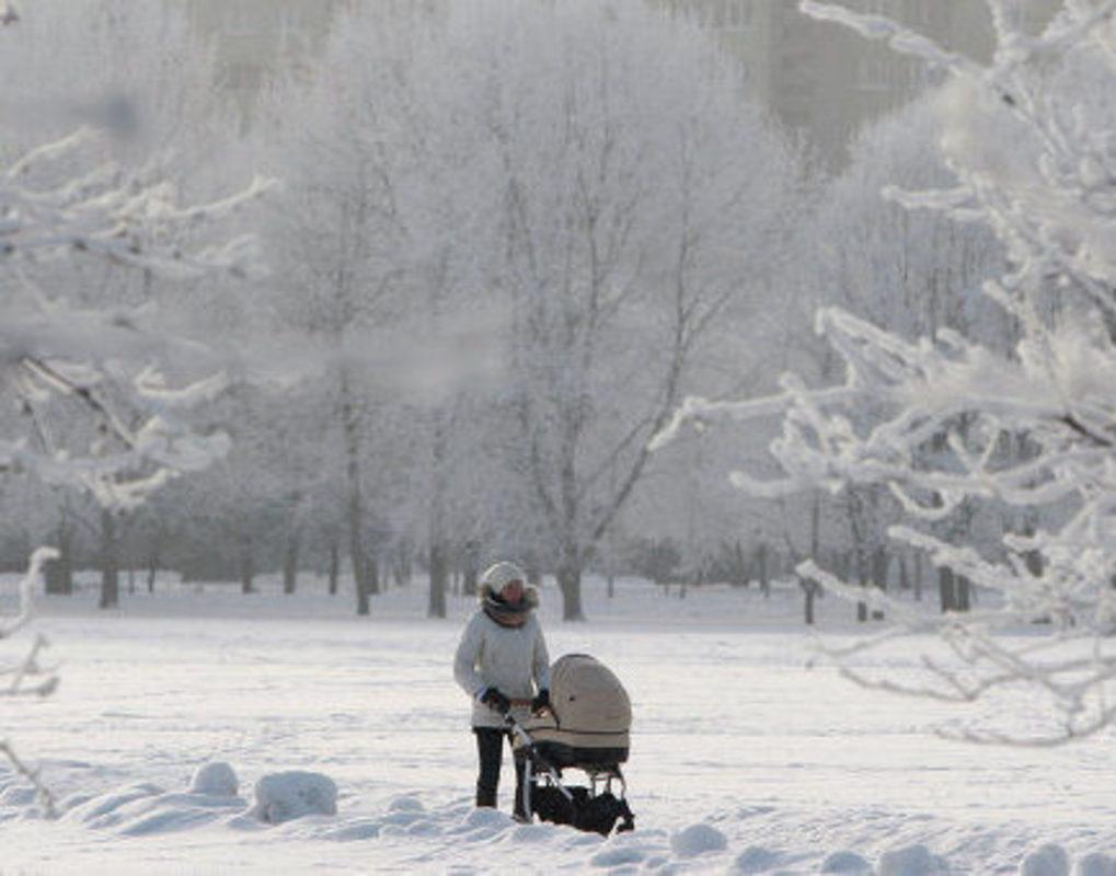 В Красноярск возвращаются морозы