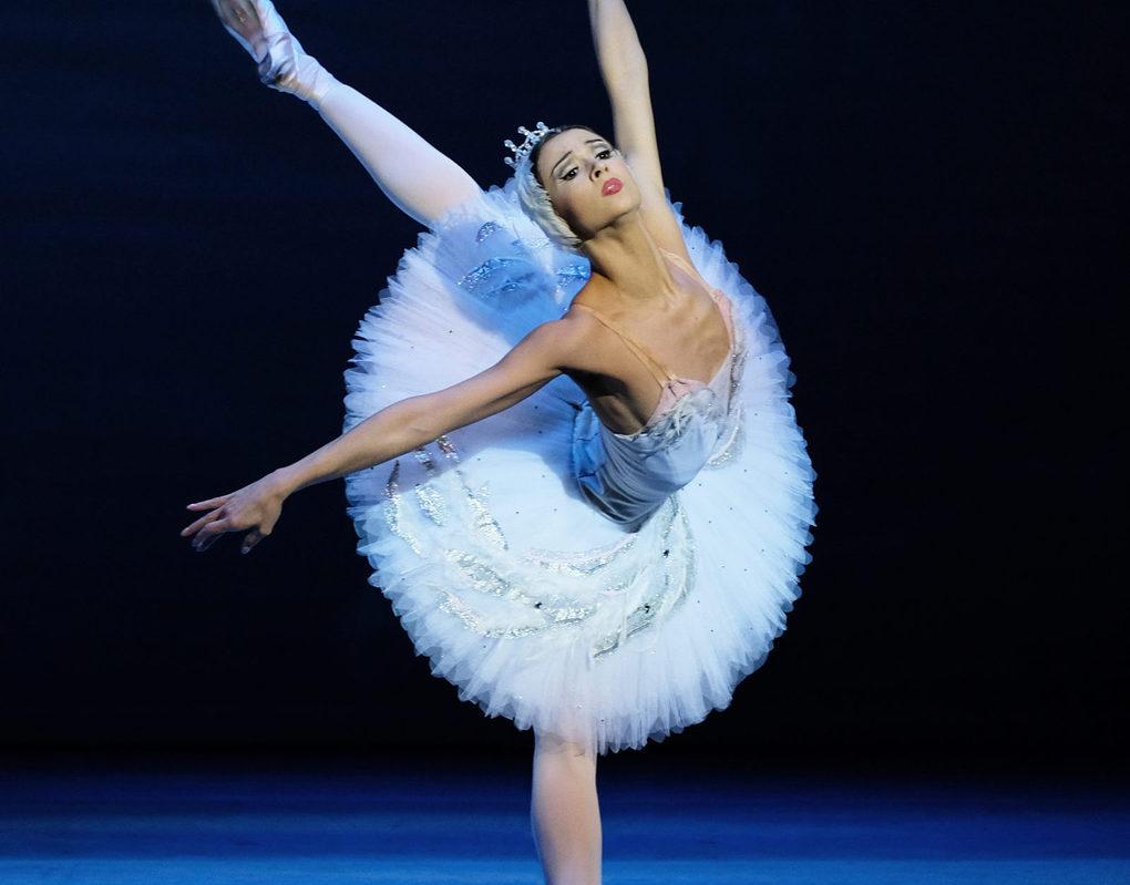 Красноярскую балерину отметили на федеральном уровне