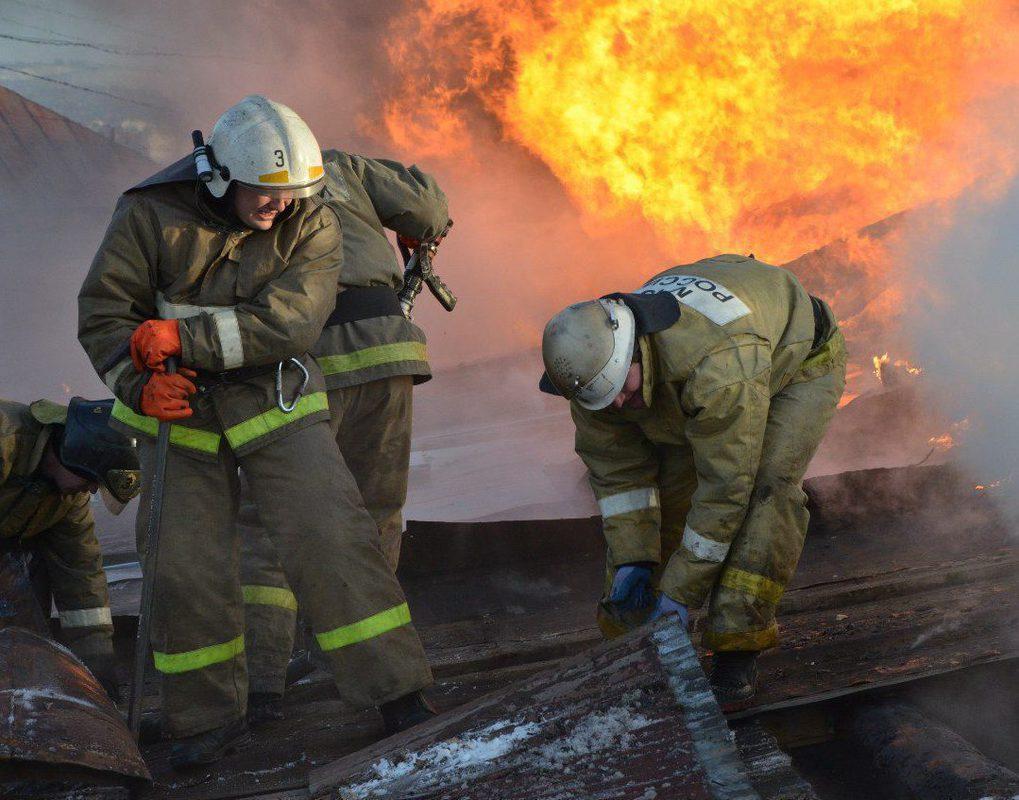 На севере края в пожаре погиб человек