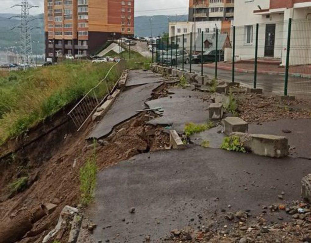 На проекты ливневок и укрепления склона в Студгородке выделят 50 млн рублей
