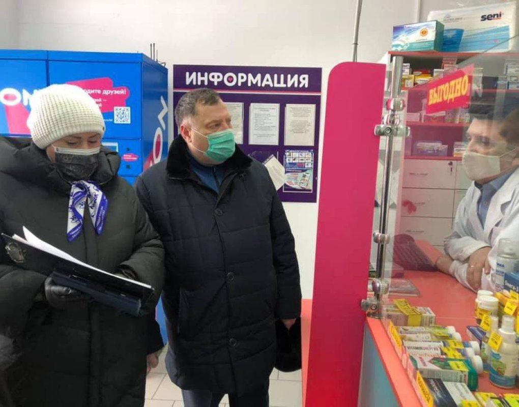 Юрий Швыткин проверил цены лекарства и социально значимые продукты