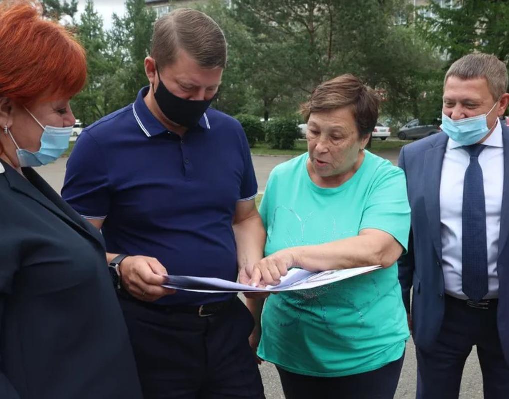 На правом берегу Красноярска полным ходом идёт благоустройство