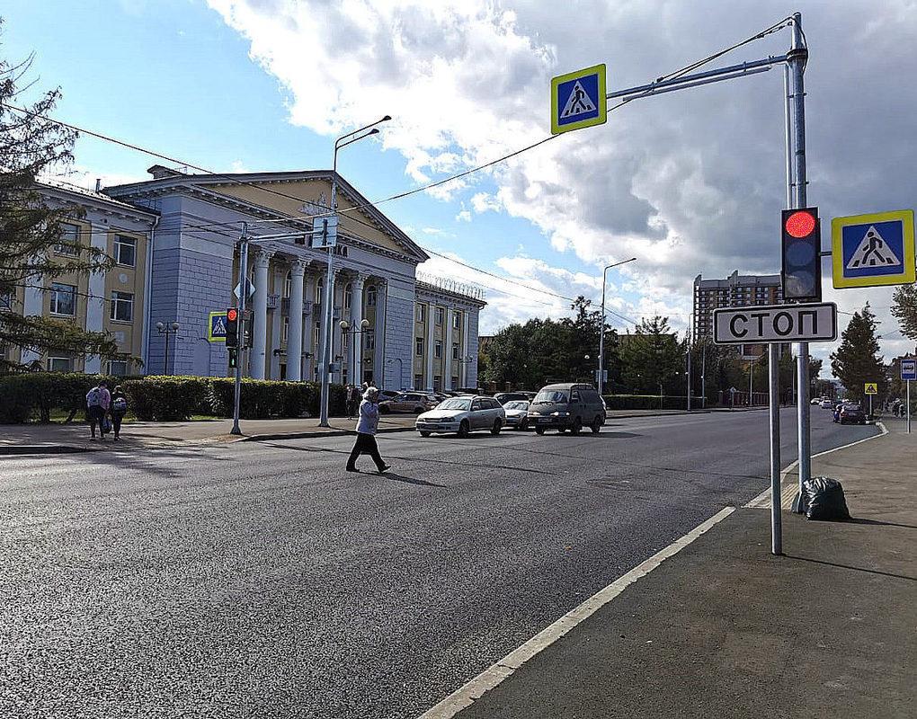 В Красноярске подходит к завершению ремонт ул. Павлова