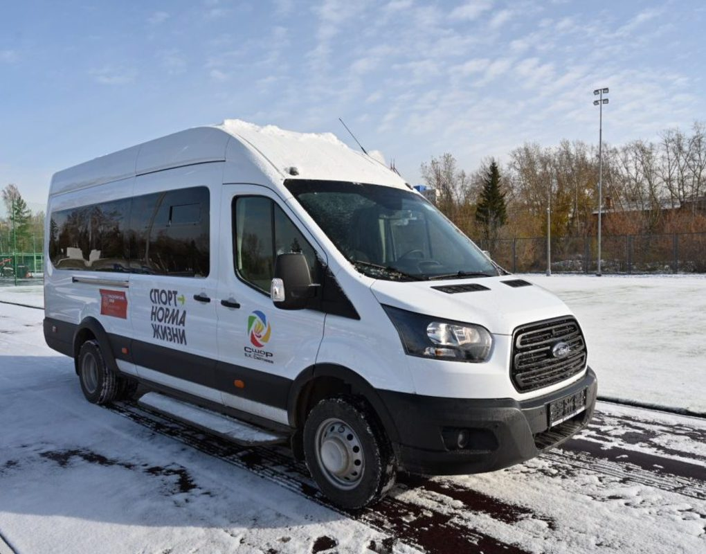Спортивная школа олимпийского резерва им. Б.Х. Сайтиева получила новый автобус