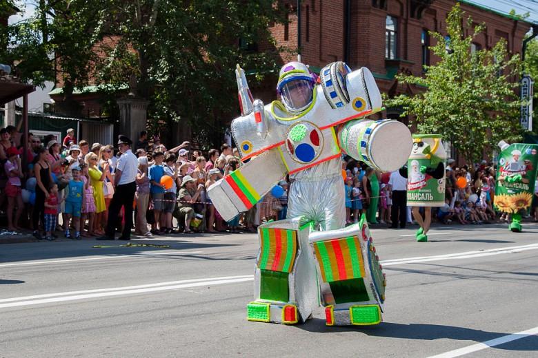 Праздничный карнавал в День города фото 2