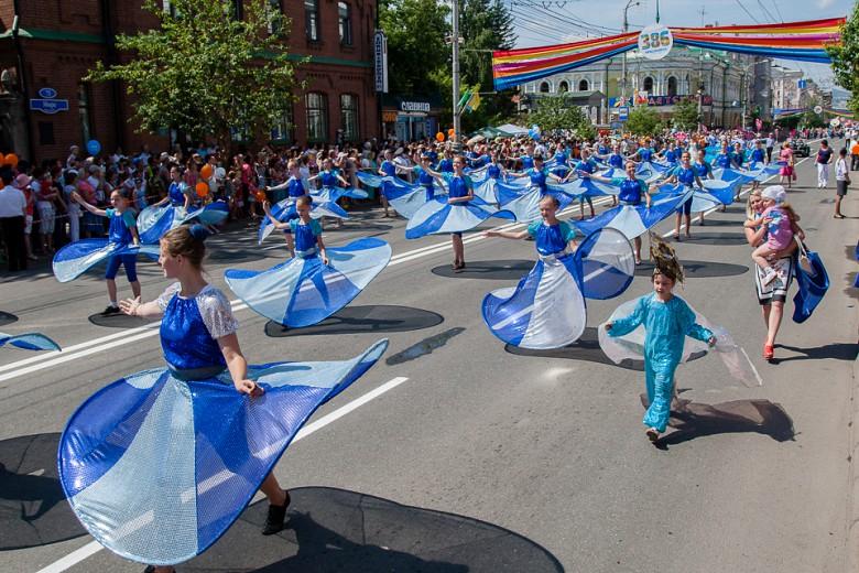 Праздничный карнавал в День города фото 4